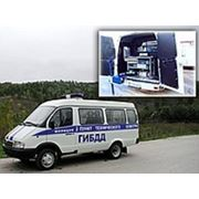Передвижной пост технического контроля автотранспорта ЛТК-П с СТМ -3500 МН