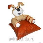 Пуф-кресло для детей собачка 60*60*60см фото