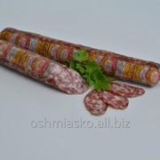 Колбаса сыровяленая салями Медовая высший сорт фото