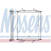 Радиатор охлаждения MAN M 90 (пр-во Nissens) фото