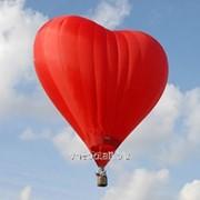 Полеты на воздушных шарах. Полет на воздушном шаре-сердце фото