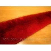 Мех натуральный норка самец красный фото