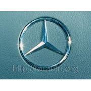 Эмблема Mercedes 100 мм (мет) 3 штыря (зад) 124,201