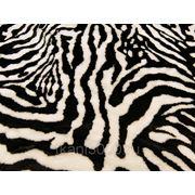Мех искусственный зебра фото