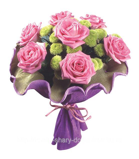 Букет цветов до 1000 рублей 10