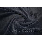 Мех темно - синий фото