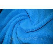 Мех ярко - синий фото