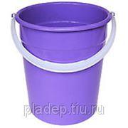 Ведра хозяйственные пластиковые 10 л фото