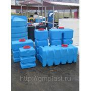 Емкости для воды и топлива пластиковые прямоугольные фото