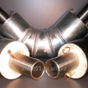 Изоляция ППУ отводов для теплопроводов