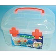 Аптечка пластиковая, контейнер для мелочей 21,5 х 15,5 х 15,5 см фото