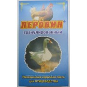 ПЕРОВИН ― минеральная смесь для подкормки сельскохозяйственной птицы 400 гр фото