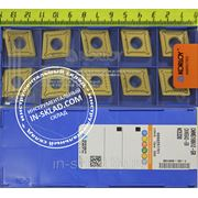 Пластина твердосплавная CNMG190612-GR NC5330 фото