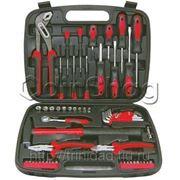 Набор инструментов FIT 57 шт, упаковка - пластиковый чемодан фото