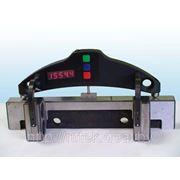 Электронная скоба для измерения диаметра колёсных пар по кругу катания фото