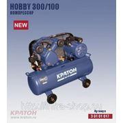 Поршневой компрессор с ременной передачей Кратон Hobby 300/100 фото