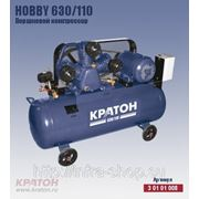 Поршневой компрессор с ременной передачей Кратон Hobby 630/110 фото