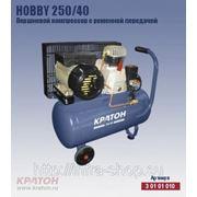 Поршневой компрессор с ременной передачей Кратон Hobby 250/40 фото