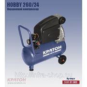Поршневой компрессор с прямой передачей Кратон Hobby 260/24 фото