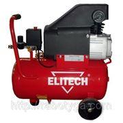 Масляный компрессор Elitech КПМ 200/24 фото