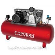 Поршневой компрессор с ременной передачей сорокин 13.35 фото