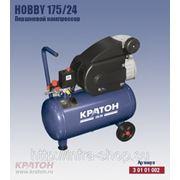 Поршневой компрессор с прямой передачей Кратон Hobby 175/24 фото