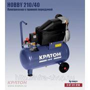 Поршневой компрессор с прямой передачей Кратон Hobby 210/40 фото