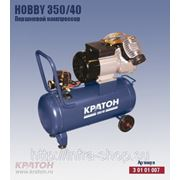 Поршневой компрессор с прямой передачей Кратон Hobby 350/40 фото