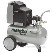 Компрессор METABO BASIC 260 Гарантия: 12, Напряжение питания: 220-240 V ~ 50 Hz, Объем ресивера: 50, Питание: от сети, Потребляемая мощность: 1500, фото