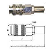 GAV UNI-B6 458/2 бс Переходник для шланга 8х17 (блистер) фото