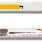Нож Olfa Utility Models для худ и диз работ, спец, с ограничителем, для реза верхн листа, с регулируемой глубиной реза, 6мм фото