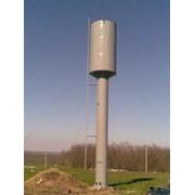 Унифицированные водонапорные стальные башни (системы Рожновского) фото