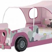 Кровать-машина Веселый Джип для девочки фото