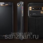 Телефон Vertu Signature Touch Pure Jet Red Gold LTE + беспроводное з/у 86496 фото