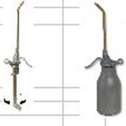 Точная масленка, ёмкость из легкого металла с вращающейся всасывающей трубкой Масленка 500куб.см фото