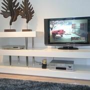Эксклюзивные ТВ-тумбы, панели под телевизор на заказ фото