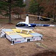 Проектирование, поставка, монтаж и обслуживание вертолетных площадок фото