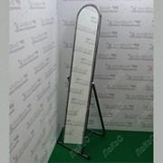Зеркало напольное, 500Lx1550Hx500D мм,зеркальное полотно 1500х250мм, хром, 5МSO-01(хром) фото