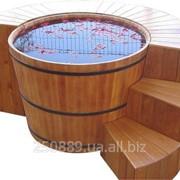 Купель для бани и сауны 820-1500-1200 фото