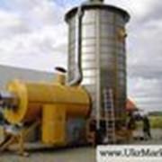 Зернохранилища. Хранение зерна на элеваторе, сушка, очистка, переработка фото