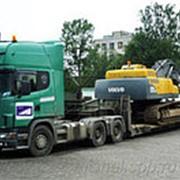 Аренда трала Scania P114 фото
