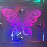 Лазерная гравировка на стекле фото