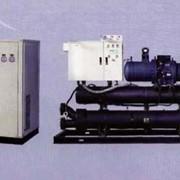 Геотермальный тепловой насос. Системы геотермальные. фото