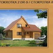Каркасный дом под ключ огромный выбор проектов каркасных домов в Украине каркасный дом STOKROTKA 2 DR-S / СТОКРОТКА ДР-С фото