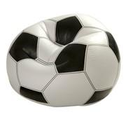 Кресло надувное Футбольный мяч, 110x108x66 см фото