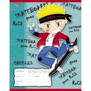 Тетрадь ученическая 12 листов, линия Для мальчиков фото