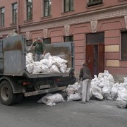 Вывоз мусора и снега фото