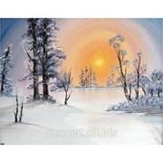Картина на холсте Пейзажи Winter Sun фото