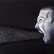 Картина маслом - Гнев. (Портреты, абстракции) фото