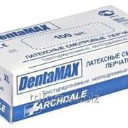 Перчатки латексные DentaMax без пудры, 50 пар/упаковка, арт. 2700 фото